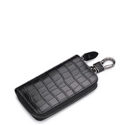 Kaduna series head layer leather durable wear-resisting multi-function wallet  Black