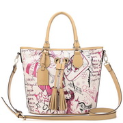 Cartoon Designer Handbag Pink