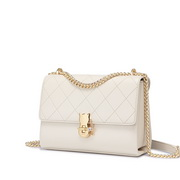 NUCELLE 2020 latest Hot Cat Lock Design Women Shoulder Bag White