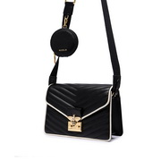 NUCELLE 2020 New Design Simple Vintage Women Shoulder Bag Black