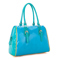 leather shoulder bag Light blue