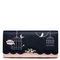 JUST STAR PU Leather 2019 Summer New Lovely Cute Long Style Wallet Blue