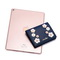 JUST STAR PU 2018 New Flowers Element Horizontal Wallet Blue
