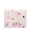 JUST STAR PU 2018 New Beautiful Flower Wallet Pink