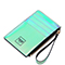 JUST STAR PU 2019 New Colorful Card Bag Green