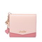 JUST STAR 2019 New Sweet Style Short Wallet Pink