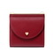JUST STAR 2019 New Sweet Girl Wallet Red