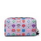 JOLUCY Polyester 2017 European Style Robot Pinting Cosmetic Bag Black