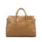 elegance cowhide leather handbag Apricot