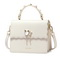 NUCELLE 2018 New Elegant Women Flouncing Handbag Shoulder Bag White