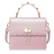 NUCELLE 2018 New Elegant Flouncing Handbag Shoulder Bag Pink