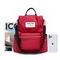 NUCELLE 2020 New Fashion Women Backpack Red