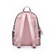 NUCELLE 2020 New Fashion Vintage Printing Backpack Pink&Black