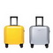 SAMMONS 2020 New Fashion Traveling Luggage 16inch Yellow