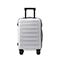 JUST STRA 2018 New Durable 24 Inch Traveling Luggage Silver