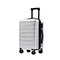 JUST STRA 2018 New Durable 28 Inch Traveling Luggage Silver