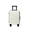 JUST STRA 2018 New Durable 20 Inch Traveling Luggage White
