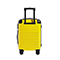 JUST STAR 2019 New Fashion Stripe 24inch Luggage Yellow