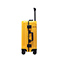 JUST STAR 2018 New Fashion Large Capacity Luggage Yellow 24inch