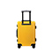 JUST STAR 2018 New Fashion Large Capacity Luggage Yellow 20inch