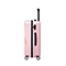 JUST STAR 2019 New Streamline Cutting Shape 24inch Luggage Pink