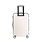 JUST STAR 2019 New Streamline Cutting Shape 24inch Luggage White