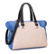 Contrast color handbag Blue