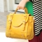 oil leathet bag Yellow