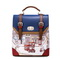 JUST STAR PU shoulder bag/packback Blue