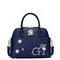 JUST STAR PU Leather 2017 Lovely Rabbit Snow Series Shell Bag Blue