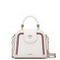 JUST STAR PU 2017 New Hot Selling British Preppy Style Cube Bag White