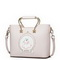 JUST STAR PU Leather 2017 New Rabbit Princess Tote Bag Soft Pink