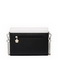 JUST STAR PU Leather 2017 Hot Selling Sweet Hollow Evening Bag Black