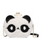 JUST STAR PU 2017 New Cute Panda Bag White