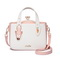 JUST STAR PU Leather 2018 New Funny Handbag Pink
