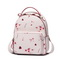 JUST STAR PU 2018 New Beautiful Flower Backpack Pink L