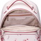 JUST STAR PU 2018 New Beautiful Flower Backpack Pink