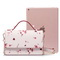 JUST STAR PU 2018 New Beautiful Flower Shoulder Bag Pink