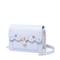 JUST STAR PU 2018 New Sweet Girls Cross Body Bag Blue