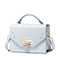 JUST STAR PU 2018 New Original Design Heart Shoulder Bag Sky Blue