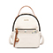 JUST STAR PU 2018 New Lovely Embroidery Backpack White