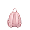 JUST STAR 2018 New Velvet Fabric Backpack Pink