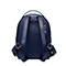 JUST STAR PU 2018 New Fashion Quilting Lines Design Backpack Blue