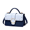 JUST STAR PU 2018 New Casual Cross Body Bag Blue