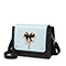JUST STAR PU 2018 New Romantic Girls Shoulder Bag Black