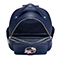 JUST STAR PU 2018 New Fashion Student Backpack Blue