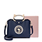 JUST STAR PU 2018 New Classic Handbag Blue