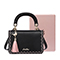 JUST STAR PU 2018 New Korea Style Tassel Shoulder Bag Black