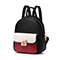 JUST STAR PU 2019 New Fashion Britsh Style Backpack Black