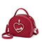 JUST STAR PU 2019 New Year Shoulder Bag Red